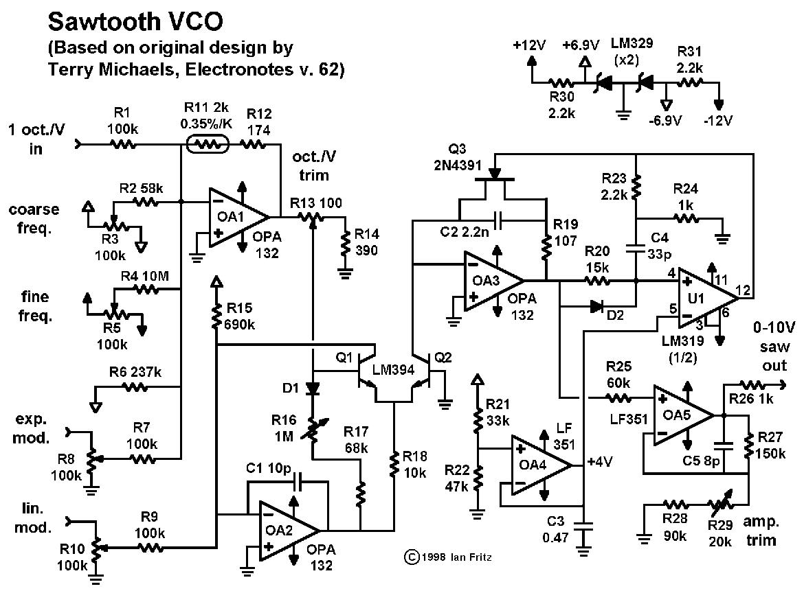 Tremendous Sawtooth Vco Wiring Digital Resources Funapmognl